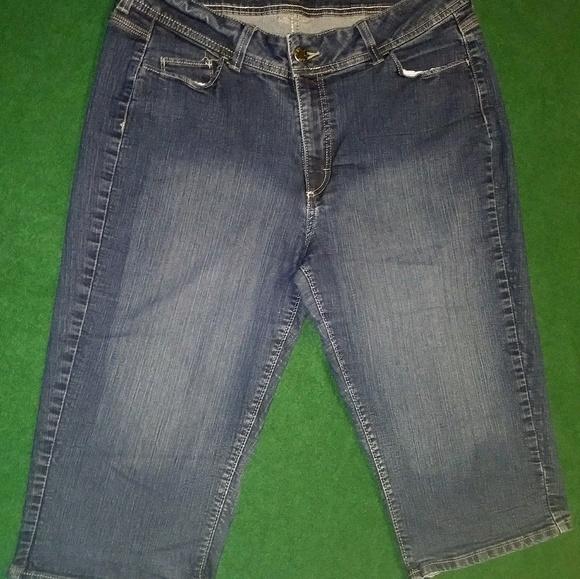 d2f86d0a5df Riders by Lee capri jeans plus size womens 18