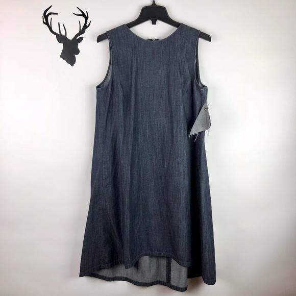d3ac40ed79b LOFT Dresses   Skirts - Ann Taylor LOFT Chambray Sleeveless Shift Dress