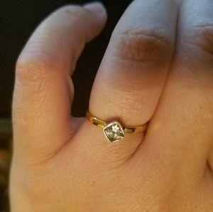 Jewelry - Vermeil Cubic Zirconia Ring