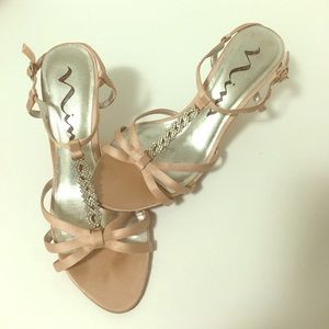 ❇️⤵️ Shoes Silk Satin & Leather Sandals
