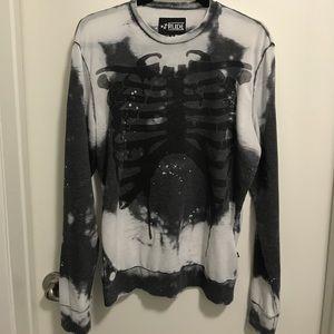 Skeleton sweatshirt ☠️ Like New!
