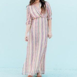 Shabby Apple 'Alpine' chiffon maxi dress
