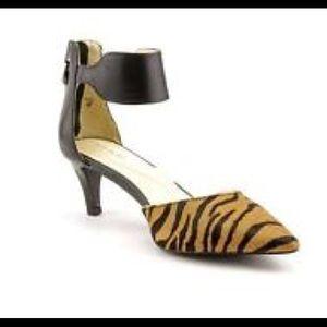 NWOB Elie Taharie Animal Print Slingback Sandal