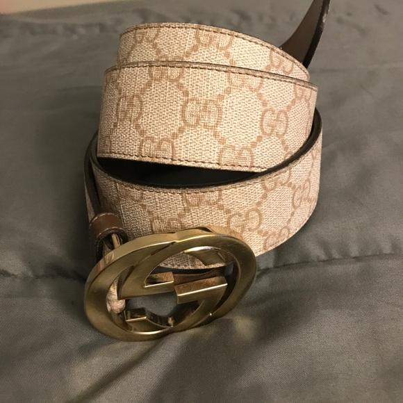 81dfa9b5e Gucci Accessories   Belt Size 105 42   Poshmark