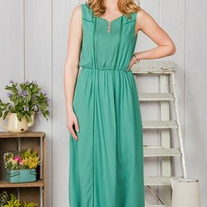 NWT Matilda Jane Down in the Valley Maxi Dress M