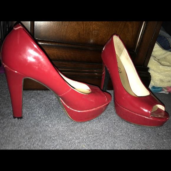 Red Candies Heels