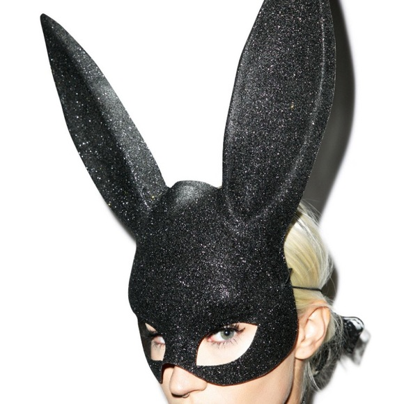 Accessories - Glitter Bunny Mask