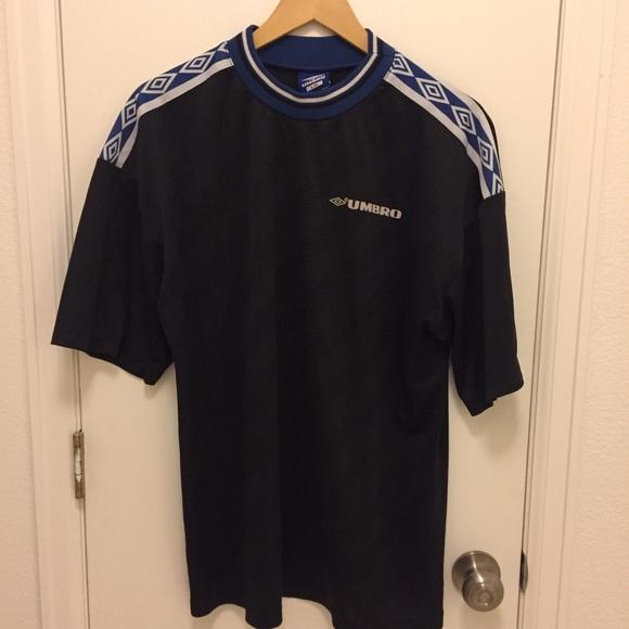 64f6919da1 Umbro Shirts | Vintage Soccer Jersey Style T Shirt | Poshmark