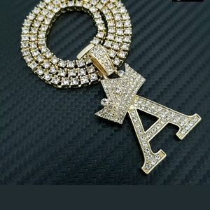 Other - 14K GOLD PLATED ICED OUT CHAIN