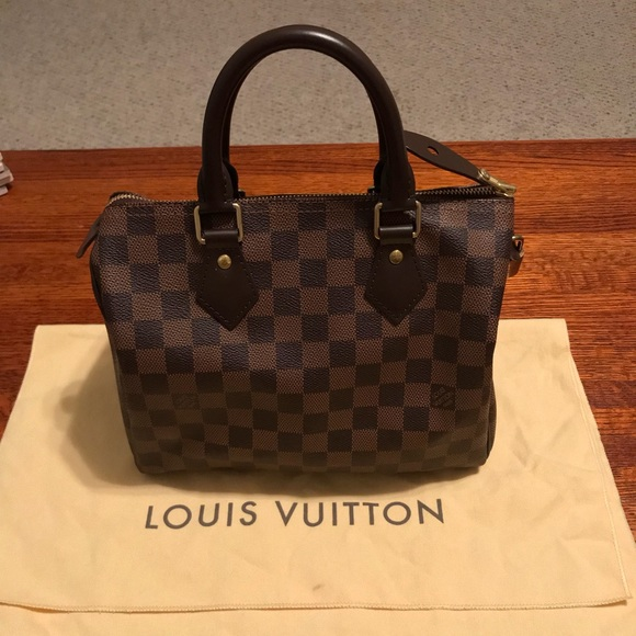 7e665ceb7f36 Louis Vuitton Handbags - Authentic Louis Vuitton Speedy 25 Damier