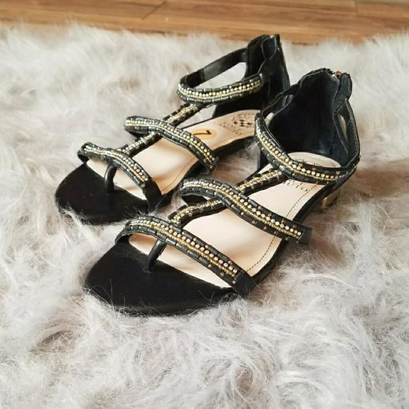 ee600e5b1d59f Vince Camuto Hilda Beaded Gladiator Flat Sandals