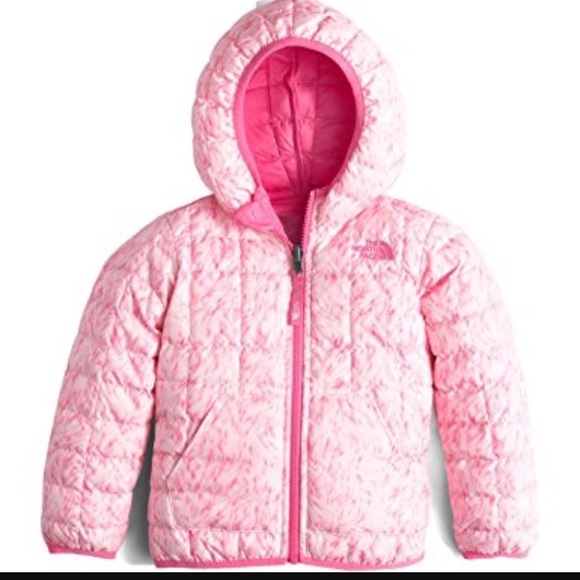 4c5c74c3a North Face thermoball Hoodie toddler girl pink 3T NWT