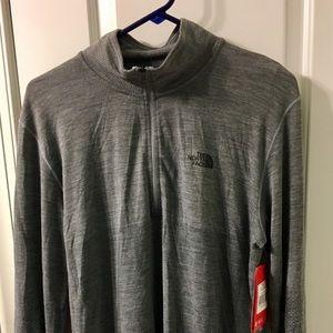 5ebb42a44 North Face Men's Flashdry Wool 1/4 Zip NWT