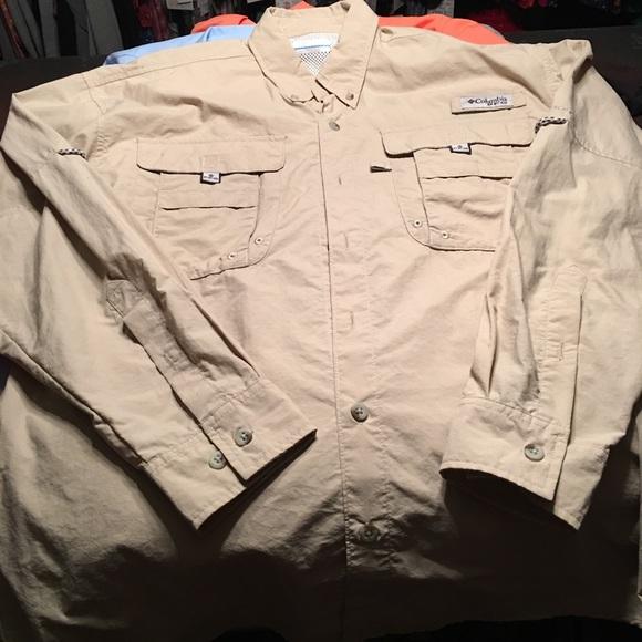 NWT Columbia Sportswear Men/'s Big-Tall Bahama II Long Sleeve Shirt Gift All Size
