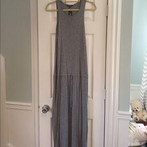 NWT Michael Stars Gray Maxi Tank Dress