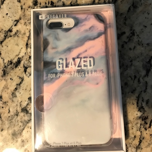 newest adfc6 845f1 Marble IPHONE 7 plus & 6 plus phone case NWT