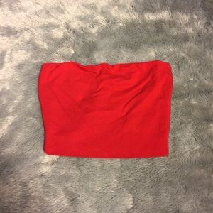 Tops - Tube Top - Red