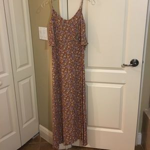 Planet blue blue life maxi dress Sz 1