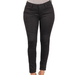 Black motto Versace skinny jeans