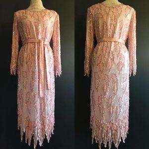 Vintage Sequin Cocktail Dress