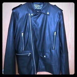 Zara Man Beat Collection Motorcycle Jacket
