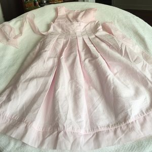Girls pink dress - size 6