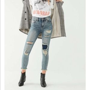 Distressed Crop BDG Jeans