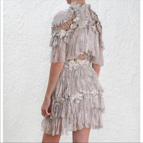 63bce37782f3 Zimmermann Dresses | Stranded Tier Mini Dress 1 2 | Poshmark