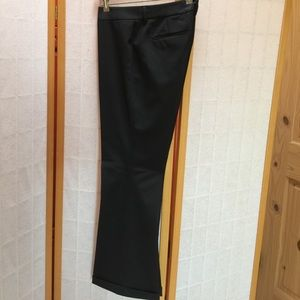 Antonio Melani black dress pants with cuffs