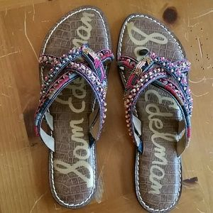 1f693ddbaf31 Sam Edelman Shoes - Sam Edelman Karly beaded sandals