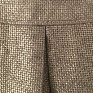 Banana Republic gold skirt size 6
