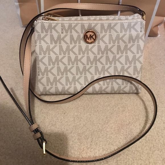 16e5ab7f79b818 Michael Kors Bags | Nwt Double Zipper Crossbody Bag | Poshmark