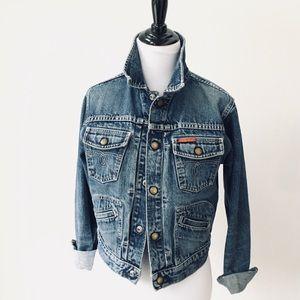 Vintage Lucky Brand Jean Jacket by Gene Montesano