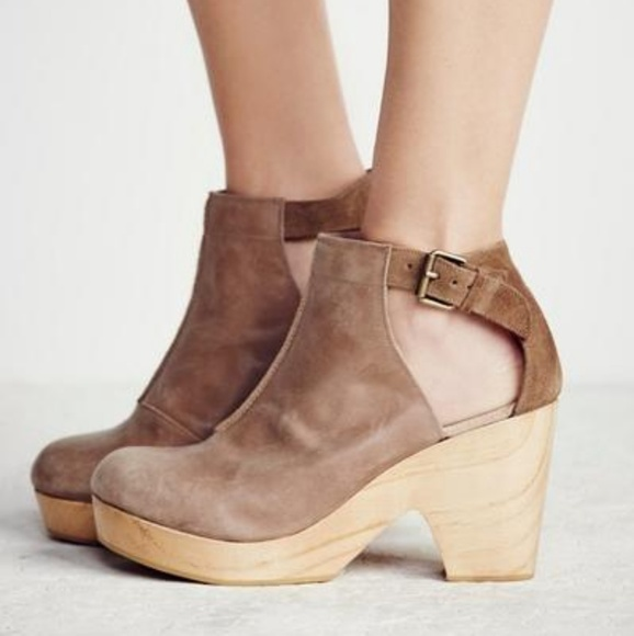 97fc5daf3e75d Free People Shoes | New Amber Orchard Clog Taupe 36 | Poshmark