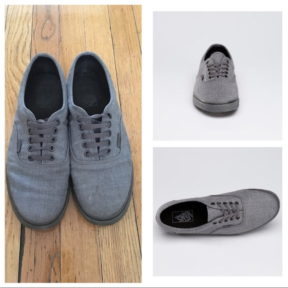 8f0f1b2476 Men s Vans Dressed Up LPE in Smoked Pearl Gray. M 59f8a5af6d64bc10ea011d9b