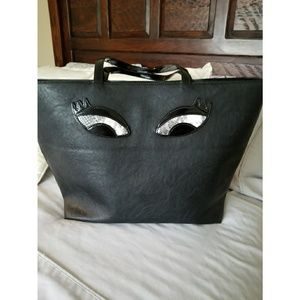 Large black tote