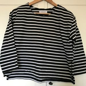 Everlane Boxy Striped Tee