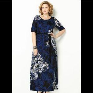 Avenue Maxi short sleeve dress 14/16