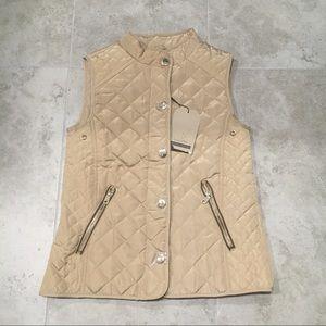 Zara girls quilted vest