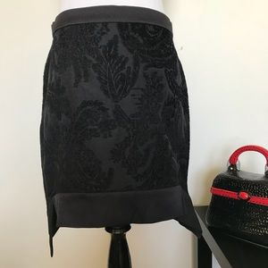 Nwt W118 by Walter Baker Angelica Black Skirt