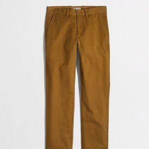 Jcrew Men's broken in chinos 33x32