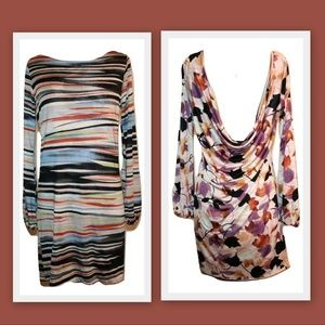 M Missoni Reversible Silk Jersey Low Back Dress