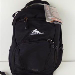 NWT High Sierra OSFM Backpack w/ Tablet Pocket 38L