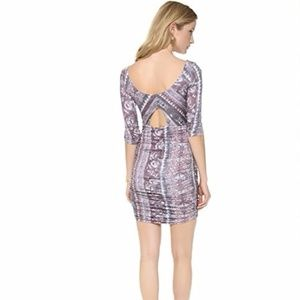 Free People Purple Jasmine Dress Eggplant Combo