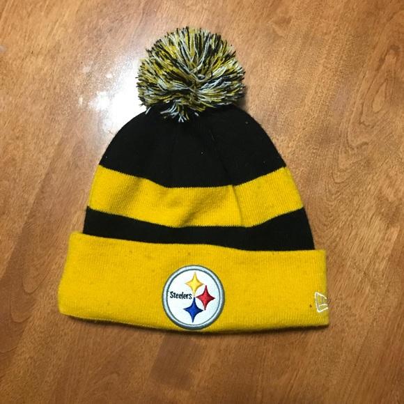 9aa7068902a New Era Pittsburgh Steelers Winter Hat. M 59f8b678620ff721e3016f4c