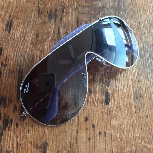 feae9f20e03 Ray-Ban aviator Sunglasses RB-3416 Q shield style
