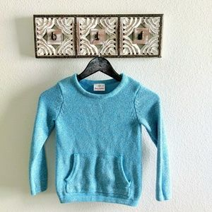 Hanna Andersson sparkle cotton sweater