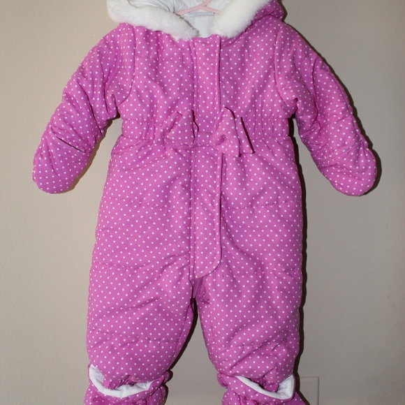 114e861f8 First Impressions Jackets & Coats | Coverall Bodysuit Baby Girl 36m ...