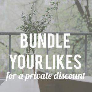 Tops - Create a bundle and I'll send a discount offer!