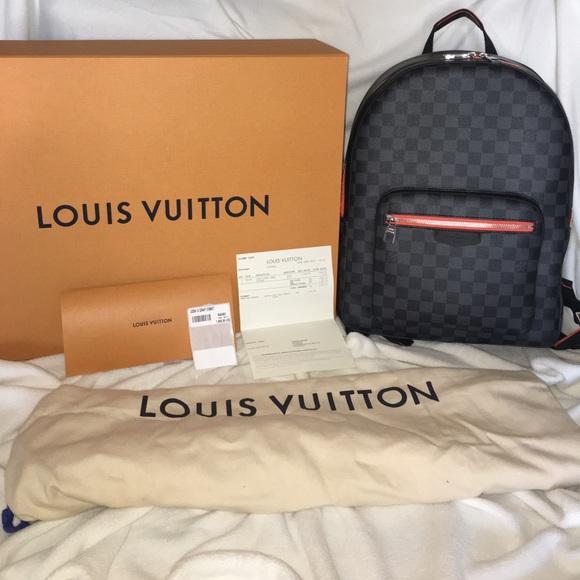 f4bed6f2b583 Rare Louis Vuitton Josh Damier Graphite COMET